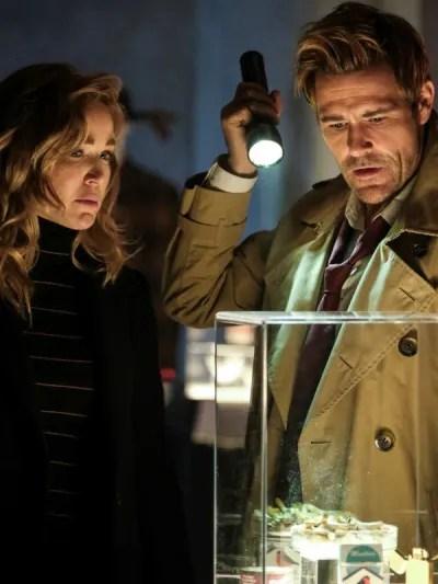 Sara and Constantine - DC's Legends of Tomorrow Season 5 Episode 14