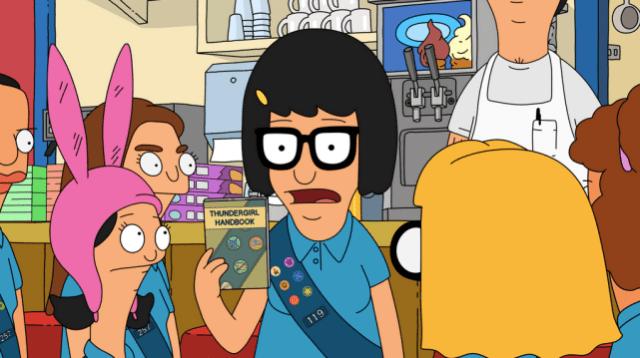 Tina the spy bobs burgers