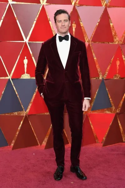 Armie Hammer participates in the Academy Awards