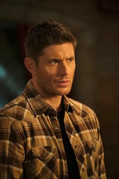 Dean Listens Intently - Supernatural Season 15 Episode 17