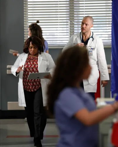 Cormac and Bailey  - Grey's Anatomy Season 16 Episode 14