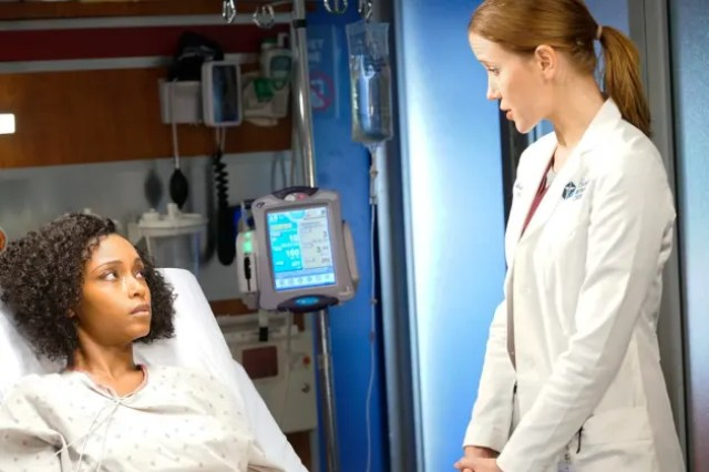 """secrets are revealed chicago med - Chicago Med (S05E17) """"The Ghost from the Past"""" 100th Episode"""