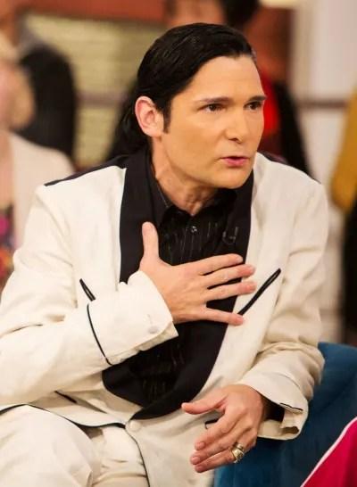 Feldman white jacket talk show