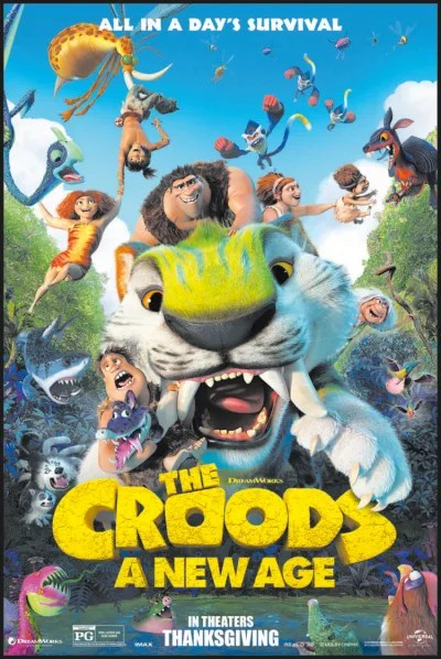 The Croods A New Age Poster