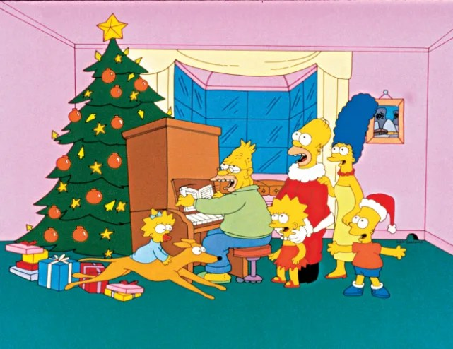"""""""Simpsons Roasting on an Open Fire"""" - The Simpsons"""