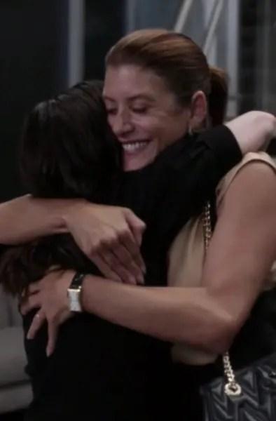 Addison Hugs Amelia  - Grey's Anatomy