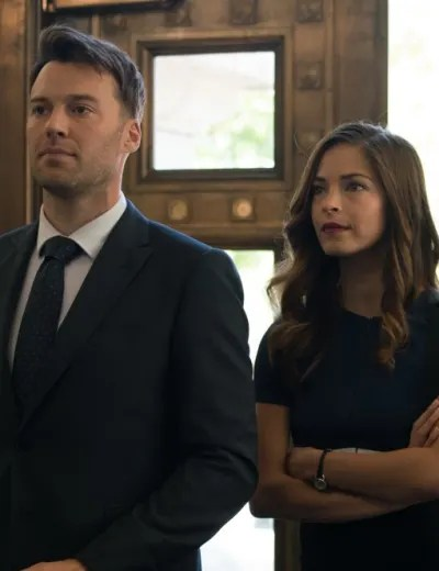 Joanna and Billy at Court - Burden of Truth Season 3 Episode 1