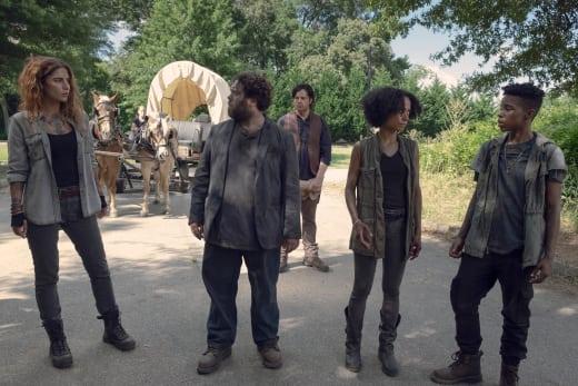 New Faces - The Walking Dead Season 9 Episode 6