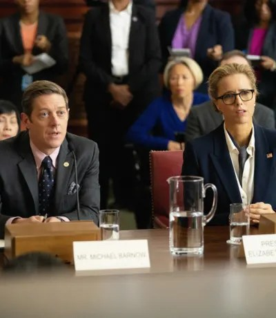 Mike and Elizabeth Talk - Madam Secretary Season 6 Episode 9
