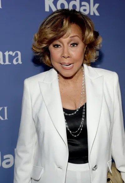 Diahann Carroll Poses at Event