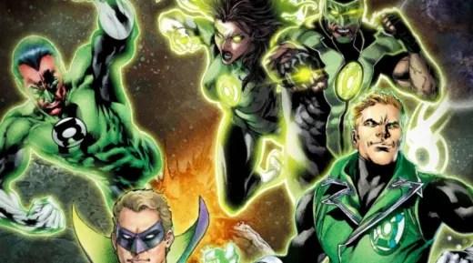 Green Lantern Series Order