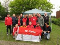Teilnehmer der Marathon-Staffel in Beckum 2010