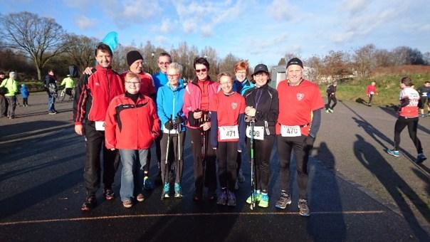 Gruppenfoto vor dem Start