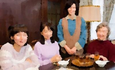 『あの家に暮らす四人の女』(2019年9月)あらすじ&ネタバレ中谷美紀主演,吉岡里帆,永作博美,宮本信子出演