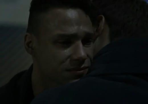 Carlos Cries - 9-1-1: Lone Star Season 2 Episode 12