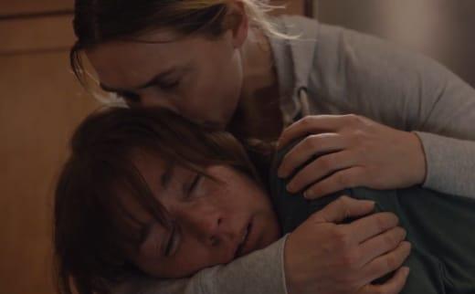 Cradling Lori - Mare of Easttown Season 1 Episode 7