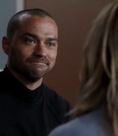Jackson Says Goodbye to Mer - Grey's Anatomy Season 17 Episode 15
