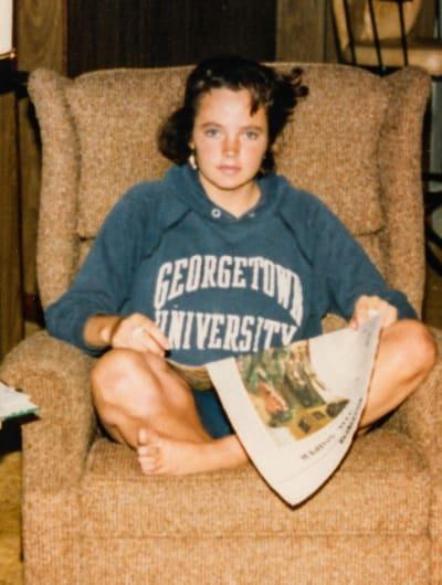 Teenage Michelle McNamara