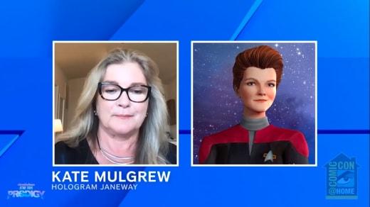 SDCC 2021 Kate Mulgrew - Star Trek: Prodigy