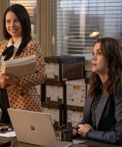 Sleuthing Sisters - tall - Good Trouble Season 3 Episode 13