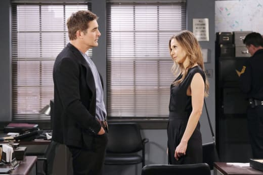 Ava and Rafe Tangle - Days of Our Lives