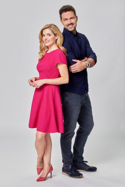 Jen Lilley and Ryan Paevey