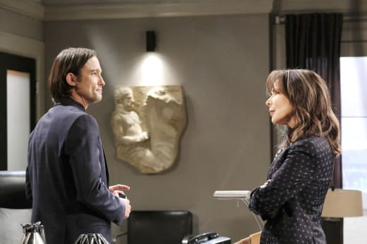 Kate Warns Philip - Days of Our LIves