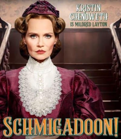 Mildred Layton Character Card - Schmigadoon!