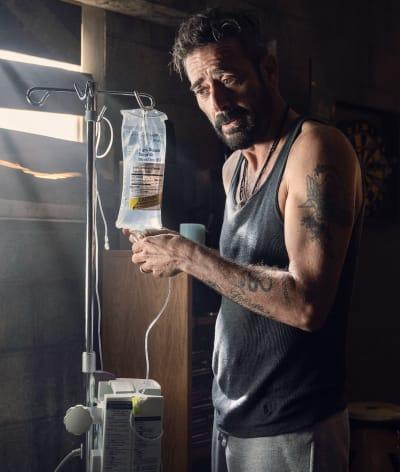 Negan Helps Lucille - The Walking Dead Season 10 Episode 22