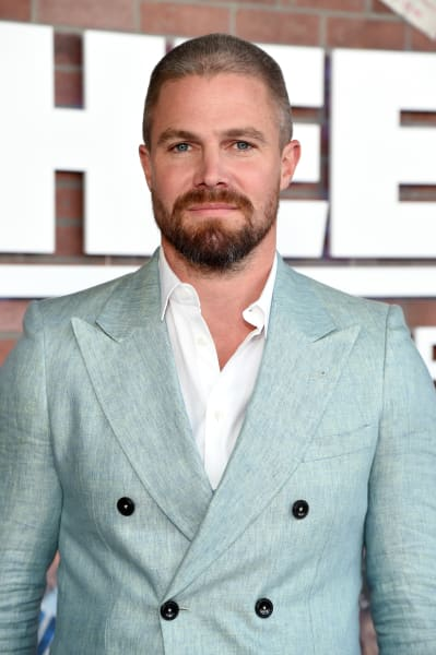 Stephen Amell at the Heels Premiere
