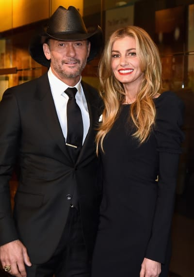Tim McGraw and Faith Hill at Country Music Hall of Fame