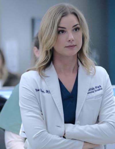Emily VanCamp as Nurse Nic Nevin - Revenge