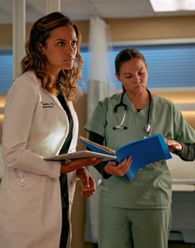 Facing Her Past - tall - The Resident Season 5 Episode 2