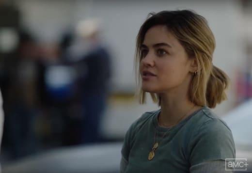Lucy Hale on AMC+