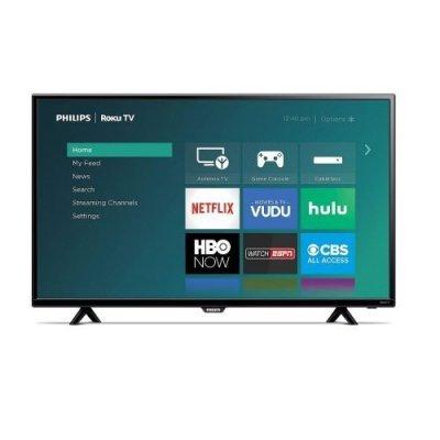 Philips Roku TV 4000 Series - TV Sizes