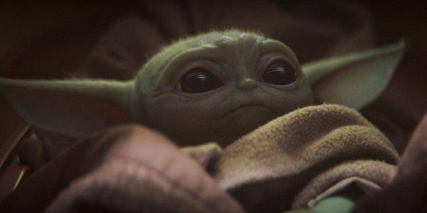 Baby Yoda pupazzo the mandalorian meme