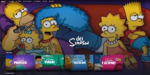 i simpson disney plus