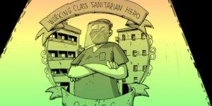 zerocalcare-eroi rebibbia quarantine sanità
