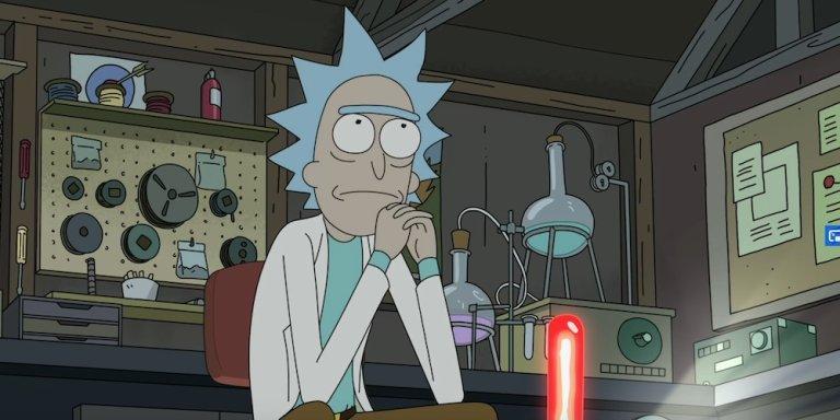 rick and morty netflix la canzone del finale quarta stagione