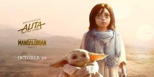 The Mandalorian: Baby Yoda incontra Alita in una fan art