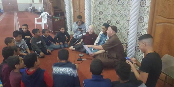 مسجد حمزة بن عبد المطلب يحتفل بليالي المولد النبوي