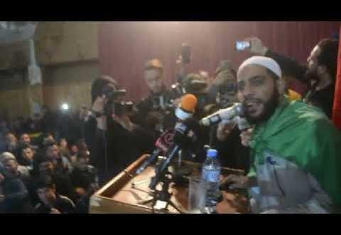 فيديو بوسعادة تستضيف الداعية الفلسطيني محمود الحسنات بصيحات فلسطين الشهداء