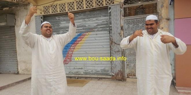 فيديو .. الحسين والحسين في لحظات من المتعة والترفيه
