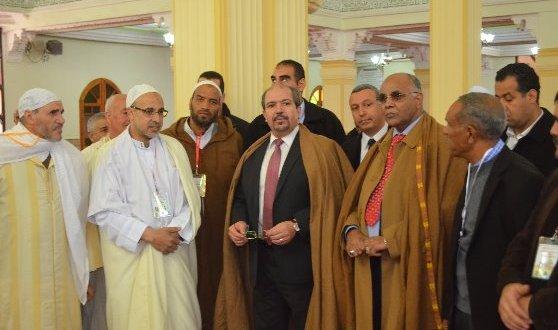 وزير الشؤون الدينية وألاوقاف الدكتور محمد عيسى يدشن مسجد بلحطاب ببوسعادة