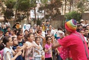 فيديو بمناسبة اعياد نصف شهر الطفولة العاب ومسابقات بدار الشباب جمال الدين الافغاني