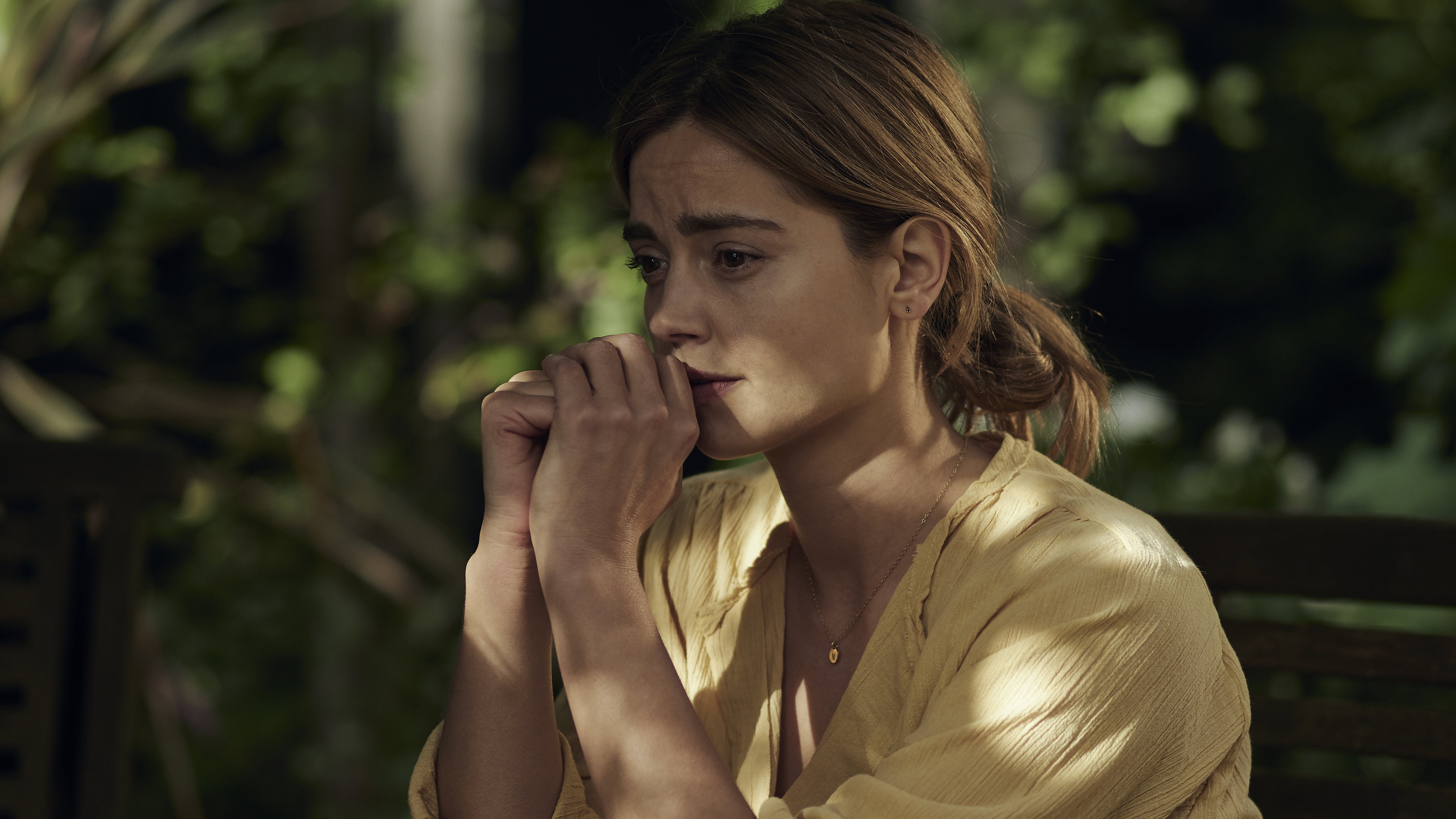 Jenna Coleman weeps in firstlook pictures from new drama