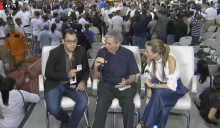 Entrevista con Monseñor Ulloa y Ambar Calvo, creadora del logo de la JMJ.