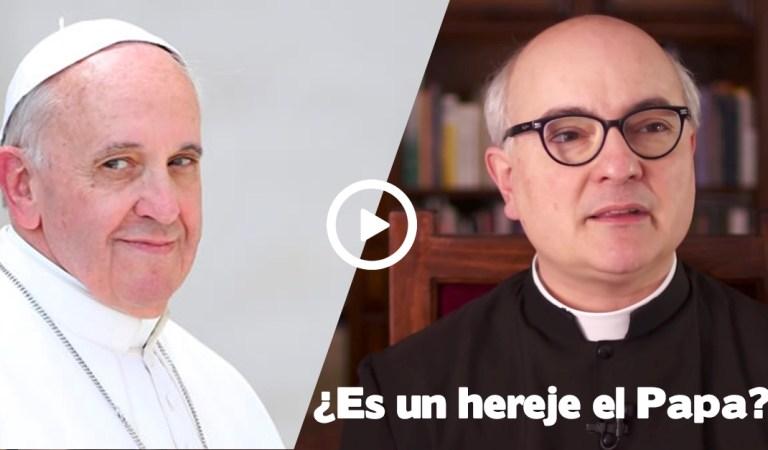 ¿Puede ser el Papa un hereje?: El Padre Fortea contesta la pregunta