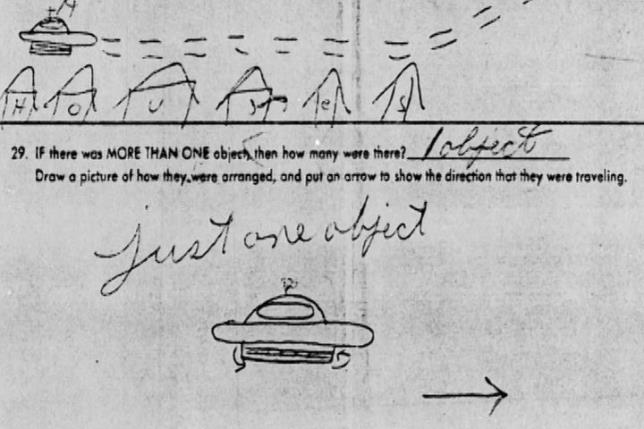 EEUU publica sus archivos sobre avistamientos de OVNIs