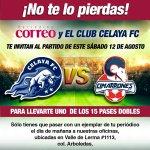 Celaya vs Cimarrones en Vivo Online Ascenso MX 2017